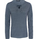 The North Face Dayspring L/S Tee Women Urban Navy/Chambray Blue Stripe
